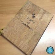 Livro de Condolências em cortiça (Novidade)